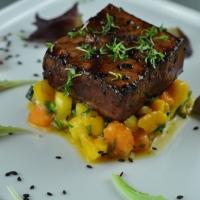 Schwertfisch | Mango | Papaya
