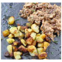 Pulled Pork | Rosmarinkartoffeln