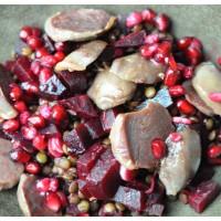 Gésier de Canard | Rote Bete | Linsen | Granatapfelkerne