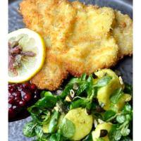Kalbsschnitzel | Kartoffel | Feldsalat