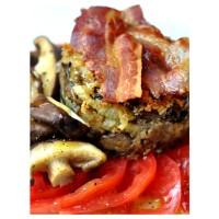 Zucchini | Aubergine | Fenchel | Parmesan | Bacon