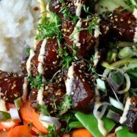 Thunfisch | Avocado | Zuckerschote | Möhre | Reis