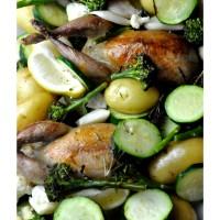 Wachtel | Kartoffel | Brokkoli | Blumenkohl